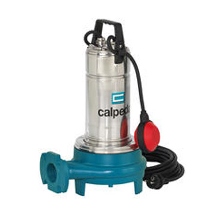 Calpeda submersible pumps with high power grinder