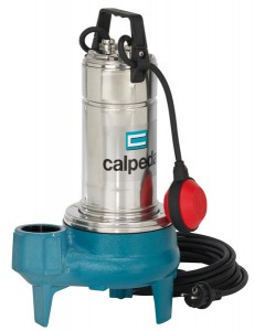 Calpeda submersible & drainage pumps